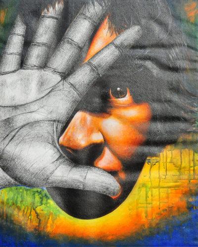 peeping-eyes by deepali art gallery